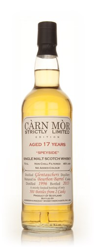 Glentauchers 17 Year Old 1996 -  Strictly Limited (Càrn Mòr)