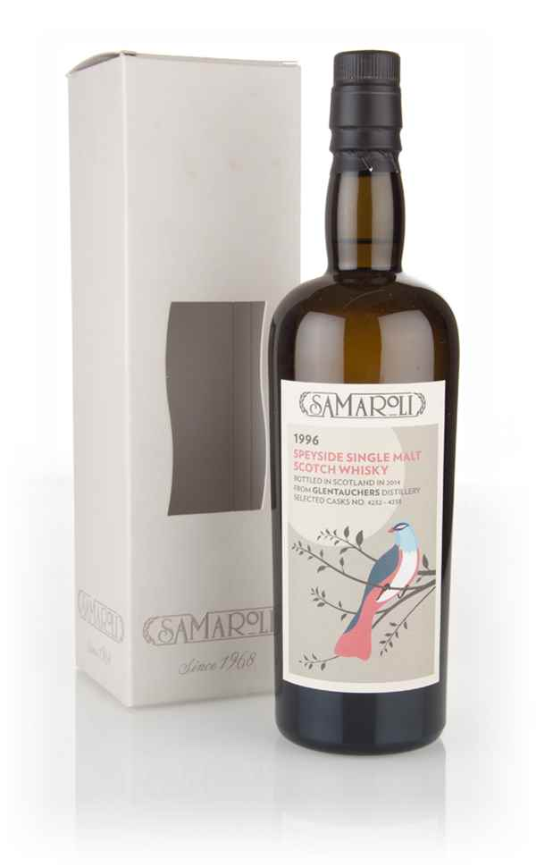 Glentauchers 1996 (bottled 2014) (cask 4232 + 4233) - Samaroli