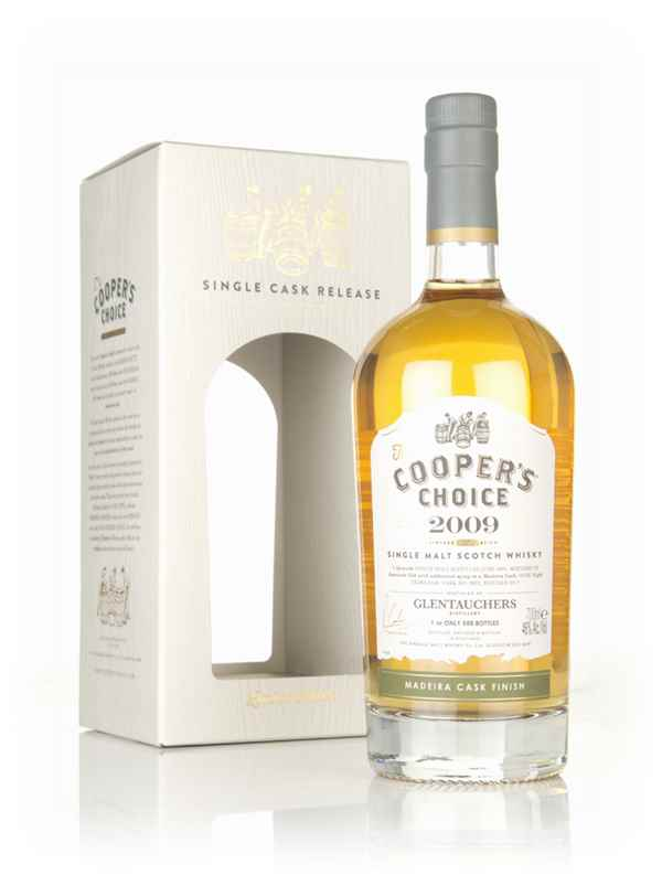 Glentauchers 8 Year Old 2009 (cask 9882) - The Cooper's Choice (The Vintage Malt Whisky Co.)