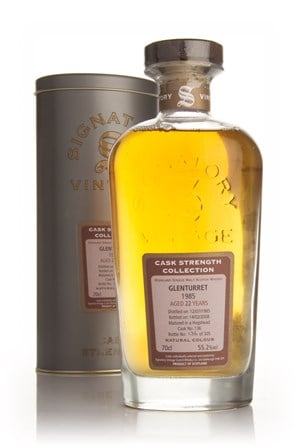 Glenturret 22 Year Old 1985 - Cask Strength Collection (Signatory)