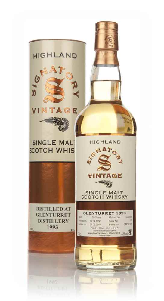 Glenturret 20 Year Old 1993 (cask 173) - (Signatory)