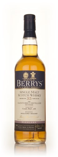 Glenturret 35 Year Old (cask 26) (Berry Bros. & Rudd)