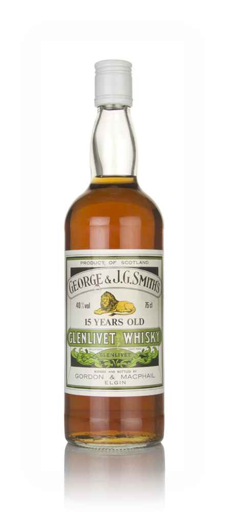 Smith's Glenlivet 15 Year Old (Gordon & MacPhail) - 1980s