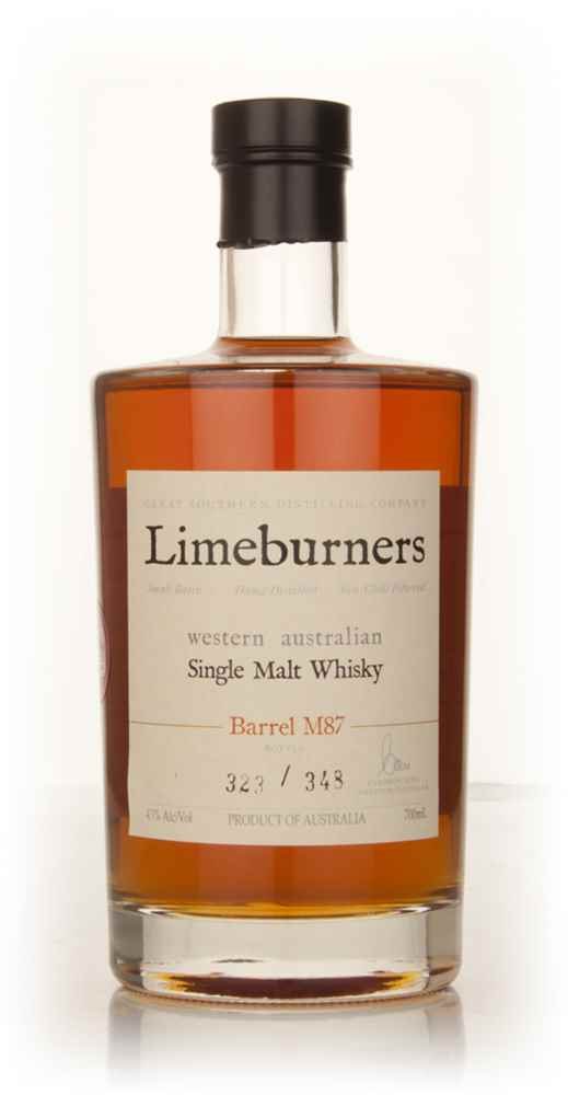 Limeburners Single Malt Whisky (cask M87)