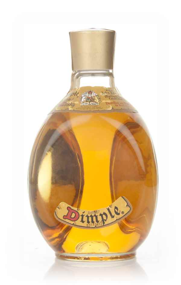 Buy Dimple Pinch Red Ceramic Decanter 15 Year Old Online: Haig Dimple (Old Bottling) 37.5cl Whisky