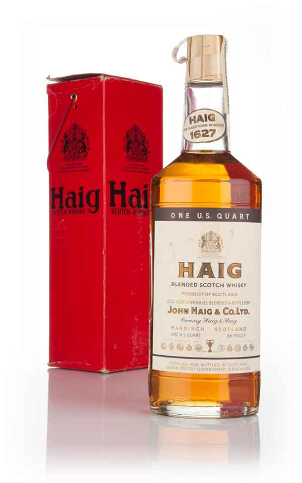 Haig's Blended Scotch Whisky - 1970s