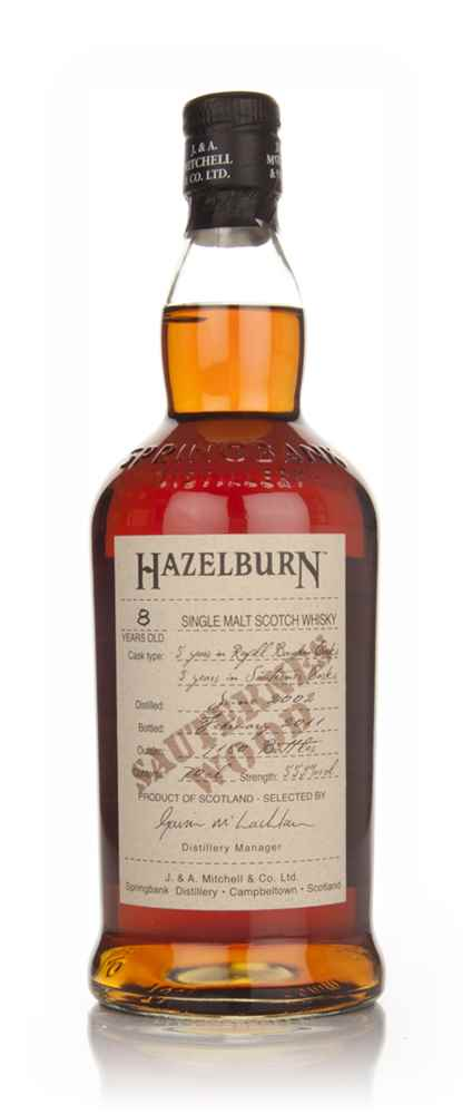 Hazelburn 8 Year Old 2002 - Sauternes Wood