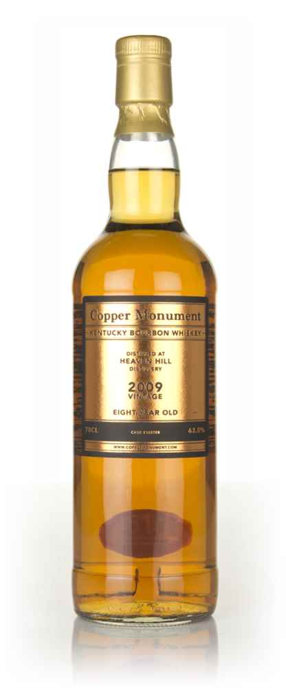Heaven Hill 8 Year Old 2009 (cask 152708) - Copper Monument