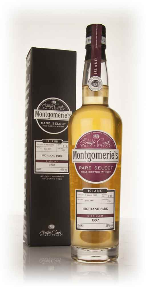 Highland Park 15 Year Old 1992 - Rare Select (Montgomerie's)