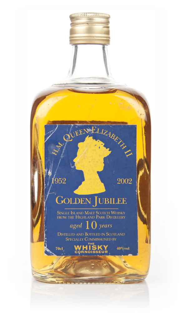 Highland Park 10 Year Old Golden Jubilee (The Whisky Connoisseur) - 2002