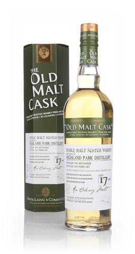 Highland Park 17 Year Old 1996 (cask 10313) - Old Malt Cask (Hunter Laing)