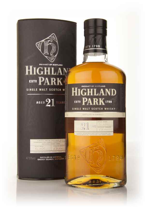 Highland Park 21 Year Old (Old Bottling)
