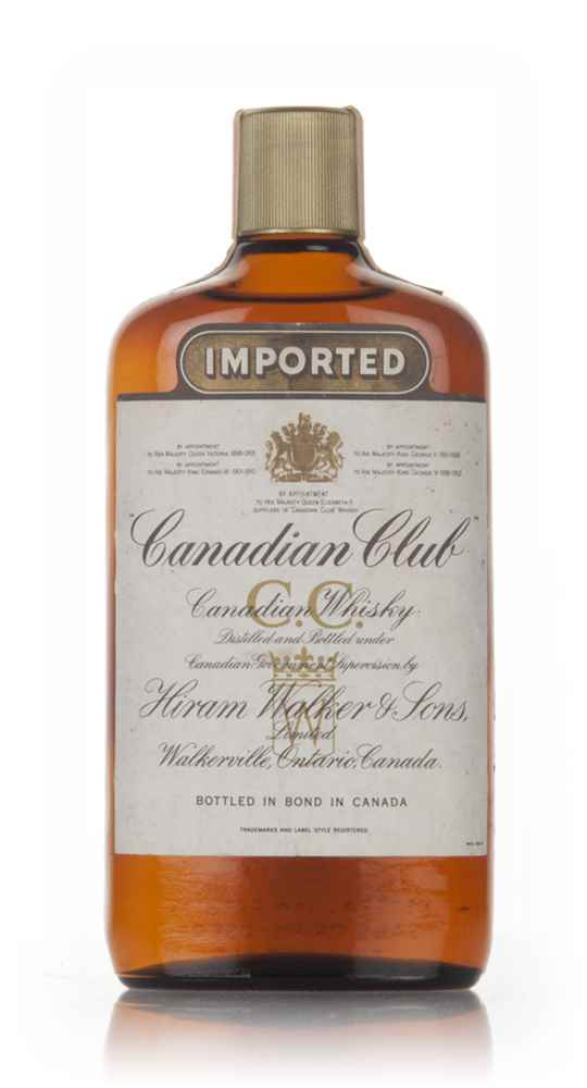 Canadian Club 6 Year Old Whisky - 1967