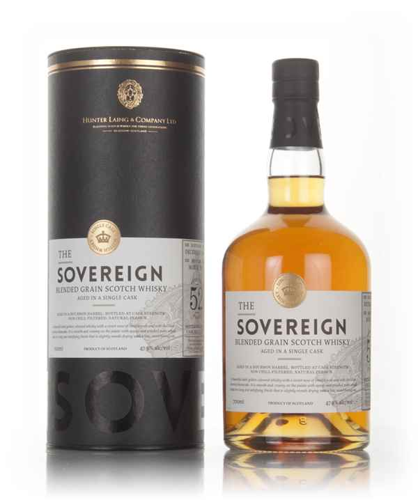 Blended Grain 52 Year Old 1964 (cask 13327) - The Sovereign (Hunter Laing)