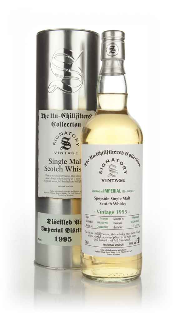 Imperial 16 Year Old 1995 - Un-Chillfiltered (Signatory)