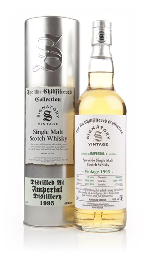 Imperial 18 Years Old 1995 (casks 50280+50281) - Un-Chillfiltered (Signatory)