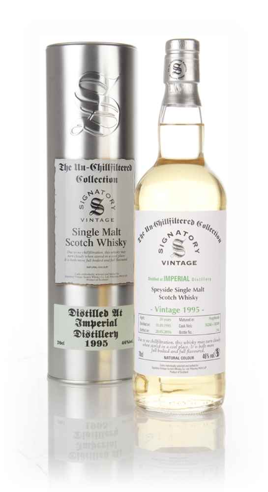 Imperial 20 Year Old 1995 (casks 50248 & 50249) - Un-Chillfiltered (Signatory)