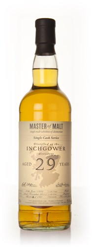 Inchgower 29 Year Old - Single Cask (Master of Malt)