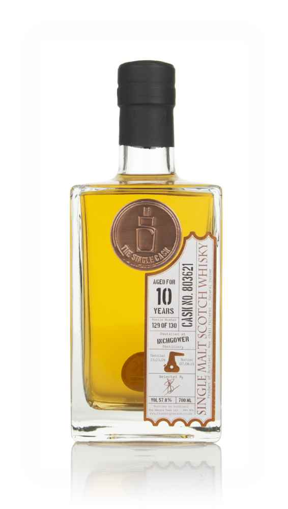 Inchgower 10 Year Old 2009 (cask 803621) - The Single Cask