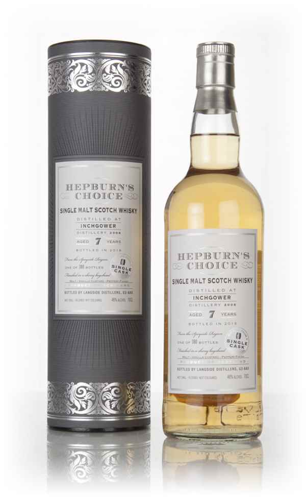 Inchgower 7 Year Old 2008 - Hepburn's Choice (Langside)