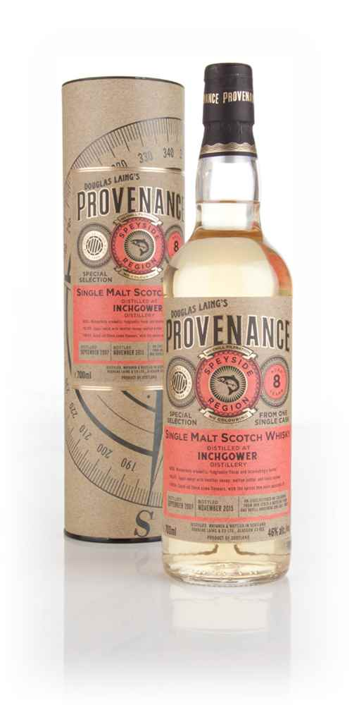 Inchgower 8 Year Old 2007 (cask 10992) - Provenance (Douglas Laing)
