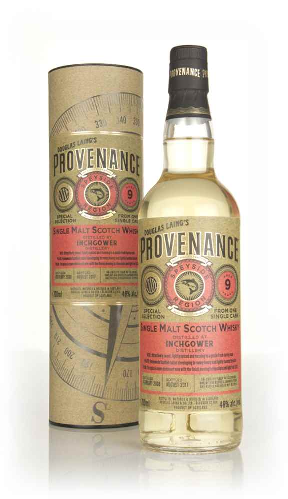 Inchgower 9 Year Old 2008 (cask 12028) - Provenance (Douglas Laing)
