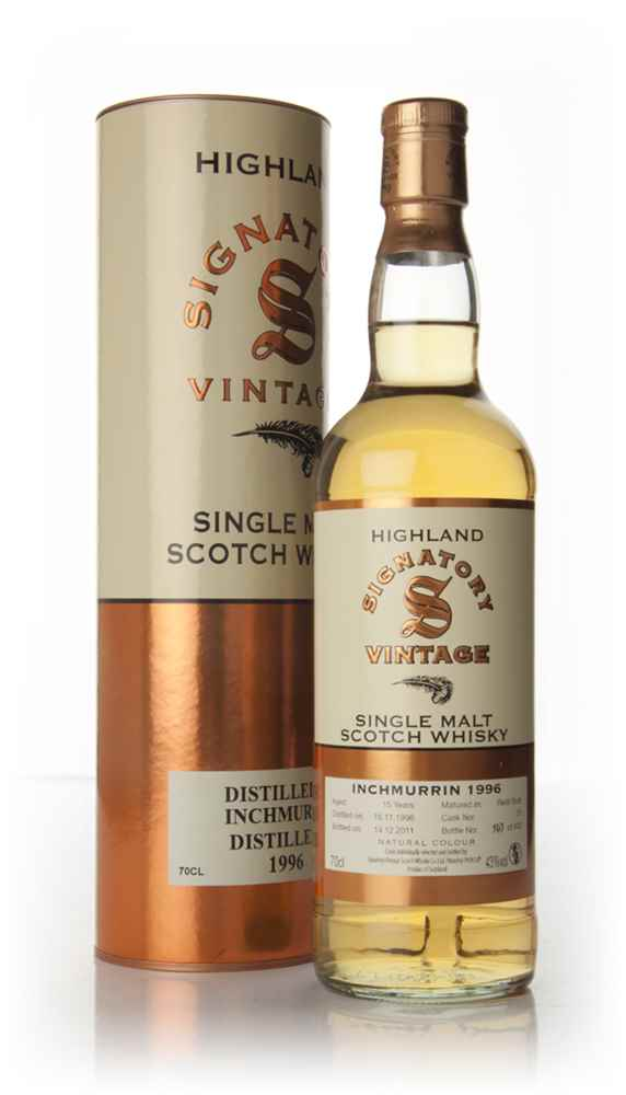 Inchmurrin 15 Year Old 1996 Cask 28 (Signatory)