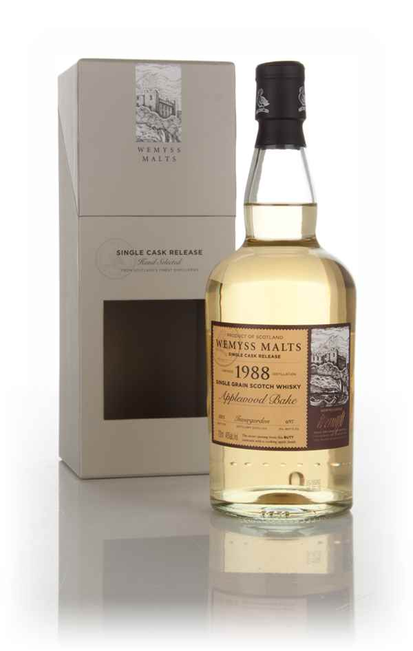 Applewood Bake 1988 (bottled 2015) -  Wemyss Malts (Invergordon)