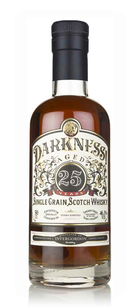 Darkness! Invergordon 25 Year Old Pedro Ximénez Cask Finish
