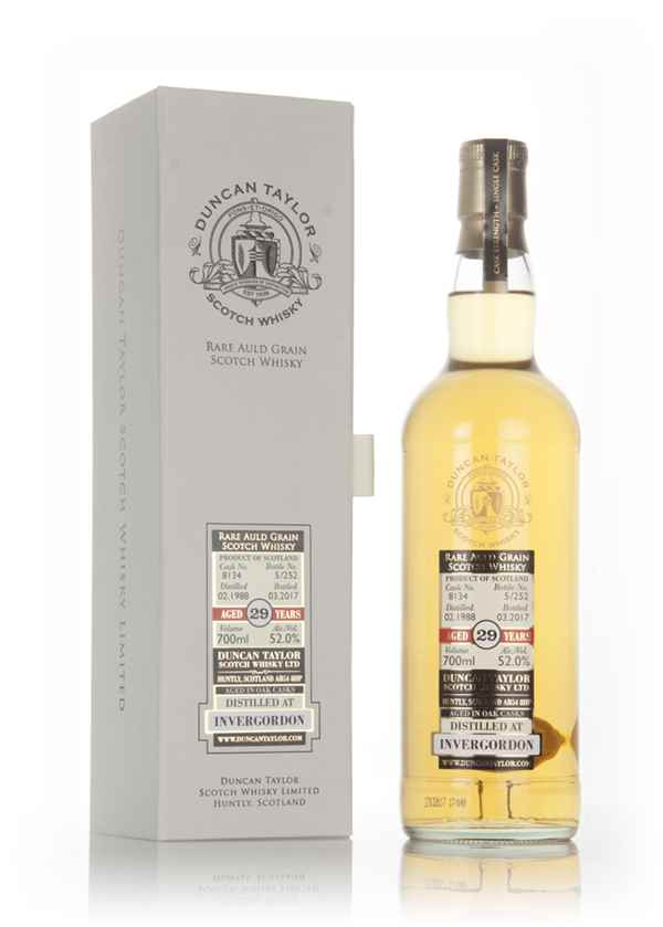 Invergordon 29 Year Old 1988 (cask 8134) - Rare Auld (Duncan Taylor)