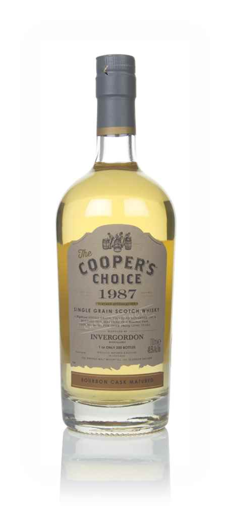 Invergordon 30 Year Old 1987 (cask 88796) - The Cooper's Choice (The Vintage Malt Whisky Co.)