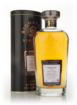 Inverleven 34 Year Old 1977 - Cask Strength Collection (Signatory)