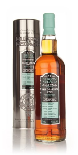 Isle of Arran 12 Year Old 1996 (Murray McDavid)
