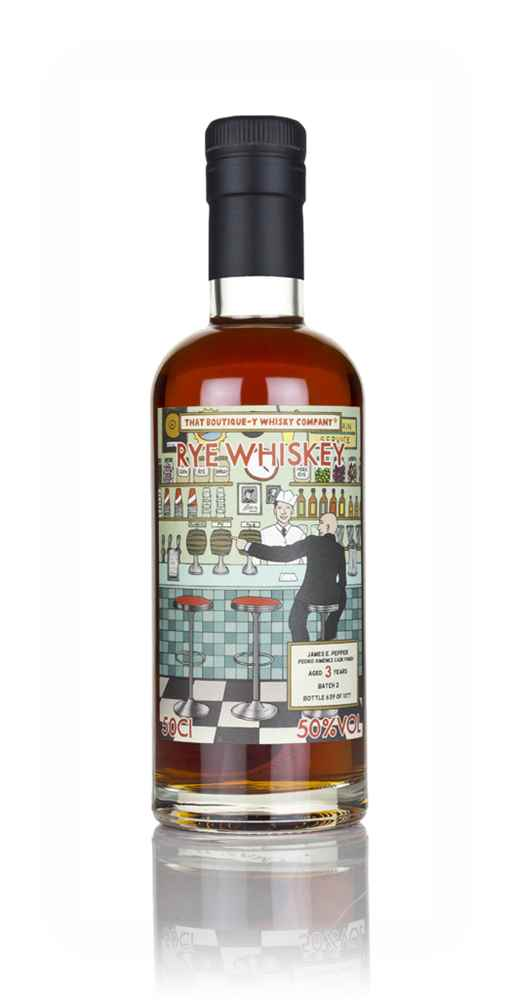 James E. Pepper 3 Year Old - Pedro Ximénez Cask Finish (That Boutique-y Whisky Company)