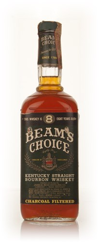 Jim Beam Beam's Choice 8 Year Old Bourbon - 1979