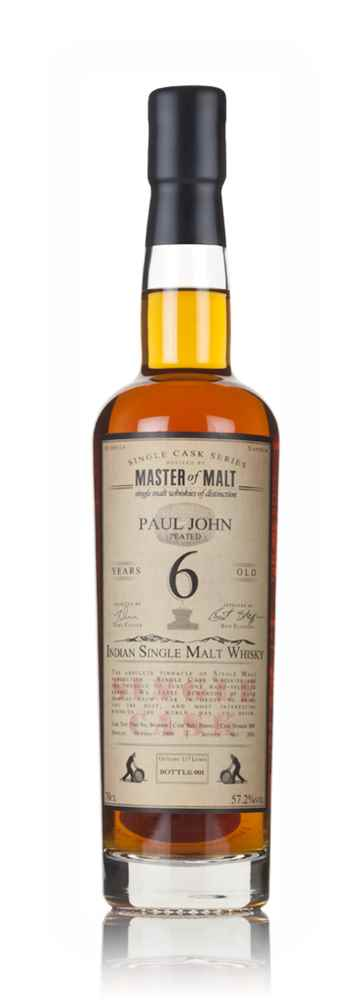 Paul John 6 Year Old 2009 (cask 809) - Single Cask (Master of Malt)