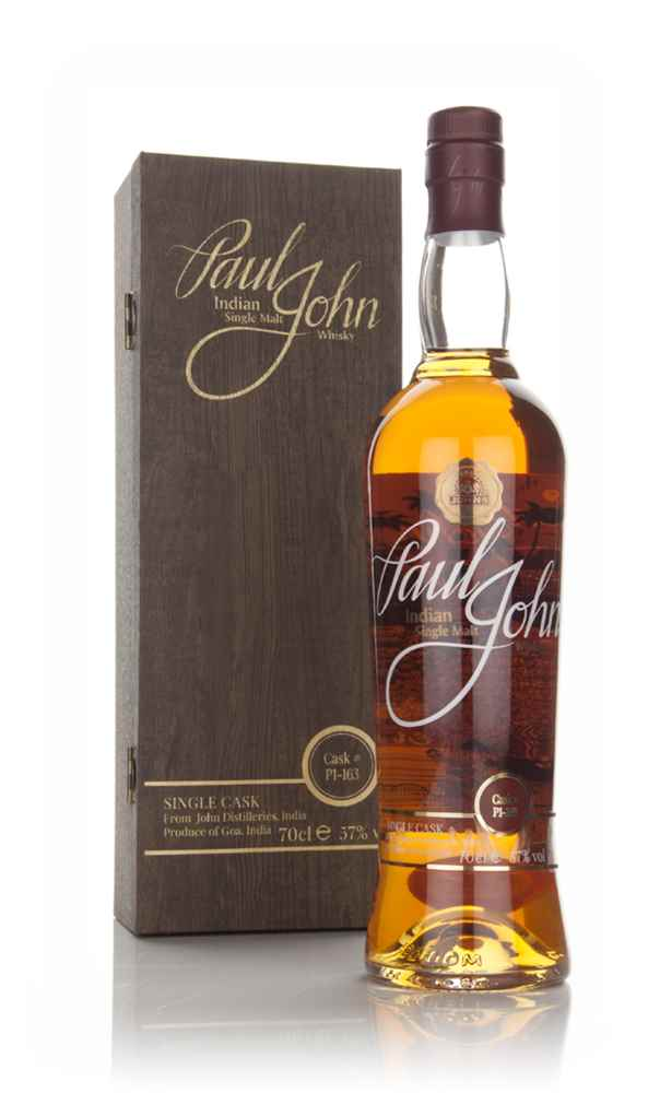 Paul John Single Cask Indian Whisky (cask P1-163)