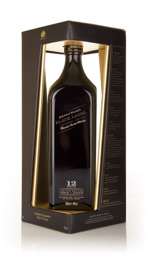 Johnnie Walker Black Label 12 Year Old 100th Anniversary Edition