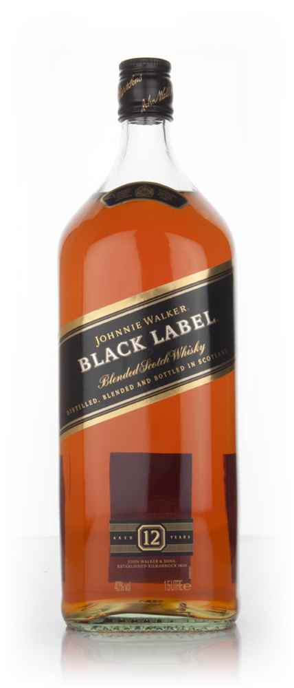 Black Label Price >> Johnnie Walker Black Label 12 Year Old 150cl