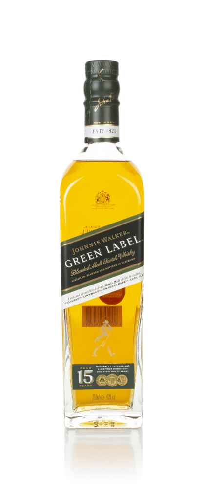 Folkekære Johnnie Walker Green Label 15 Year Old Whisky - Master of Malt PV-71