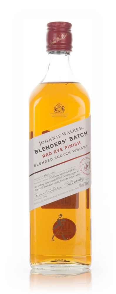 Johnnie Walker Blenders' Batch - Red Rye Finish