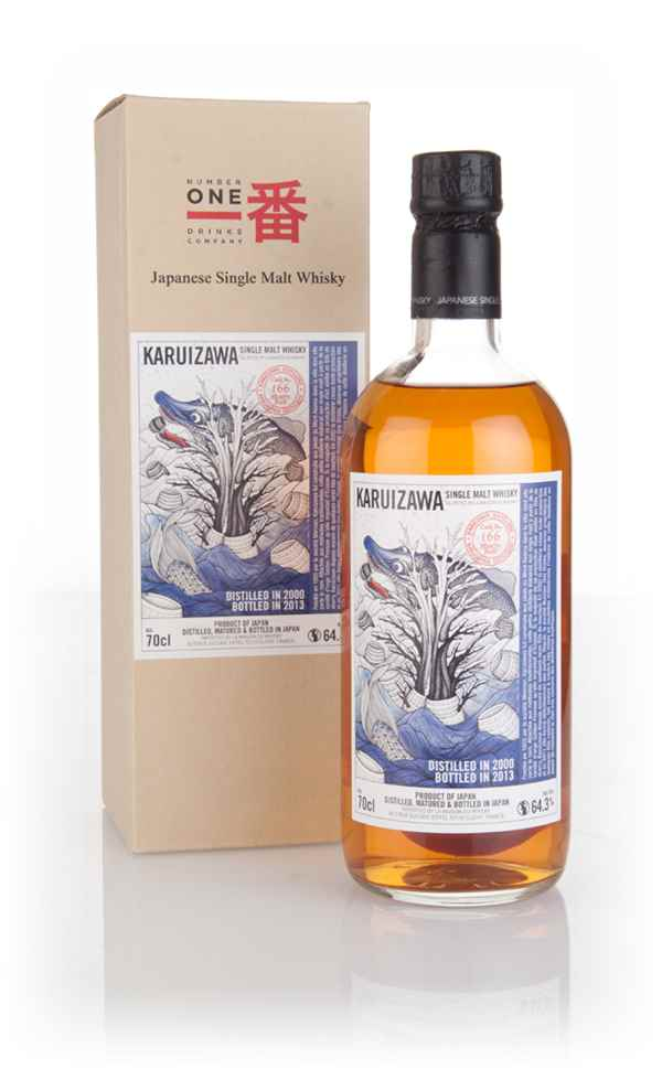 Karuizawa 2000 Sea Dragon Cask (cask 166) (bottled 2013)