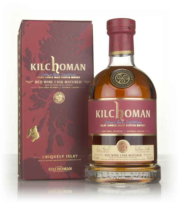 Kilchoman Red Wine Cask Matured 2012 (bottled 2017)