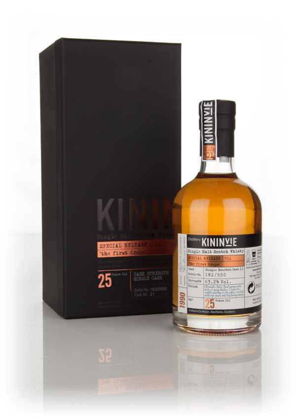 Kininvie 25 Year Old 1990 (cask 21) - 'The First Drops' (Special Release #1)