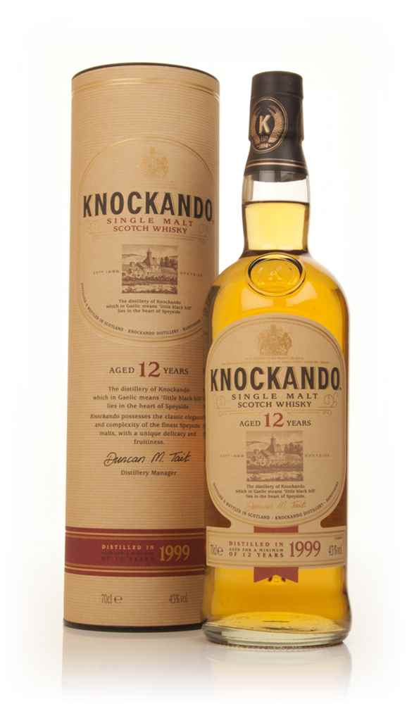 Knockando 12 Year Old 1999