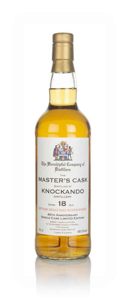 Knockando 18 Year Old - Master's Cask (The Worshipful Company of Distillers)