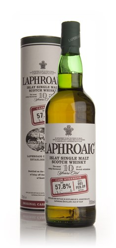 Laphroaig 10 Year Old Cask Strength - Batch 001 Feb 09