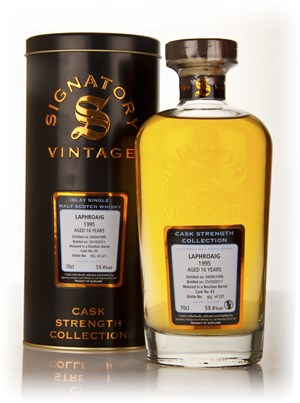 Laphroaig 16 Year Old 1995 Cask 43 - Cask Strength Collection (Signatory)