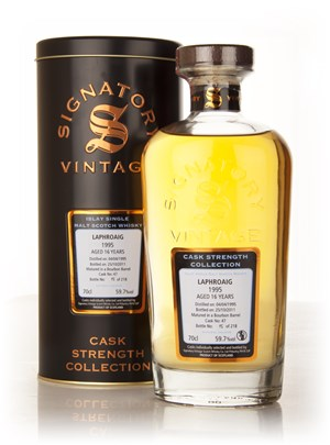 Laphroaig 16 Year Old 1995 Cask 47 - Cask Strength Collection (Signatory)