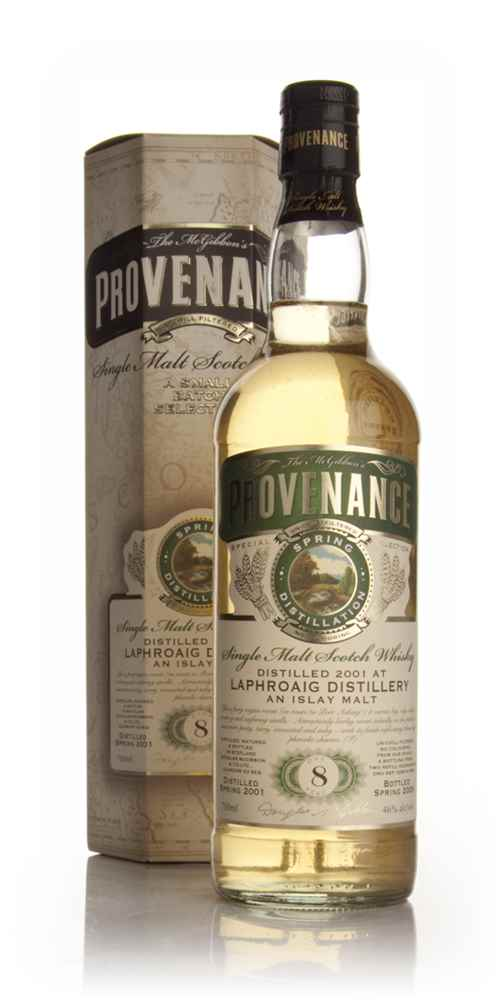 Laphroaig 8 Year Old 2001 - Provenance (Douglas Laing)